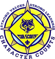 Cub Scouts - Strong Values - Strong Leaders - Character Counts